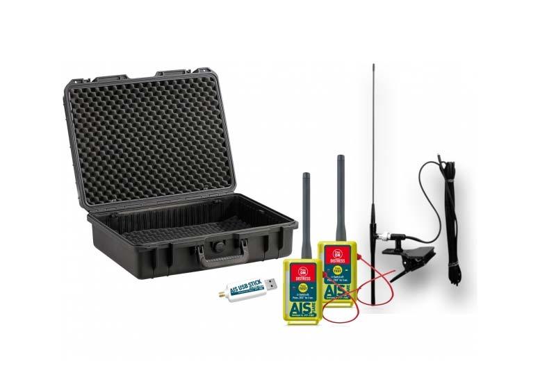 Seaangel Premium AIS Flare 2 - Rundum-Schutz in einem Paket: Der robuste und wasserfeste Outdoor-Koffer beinhaltet alles was Sie zum Schutz ihrer Crew benötigen!