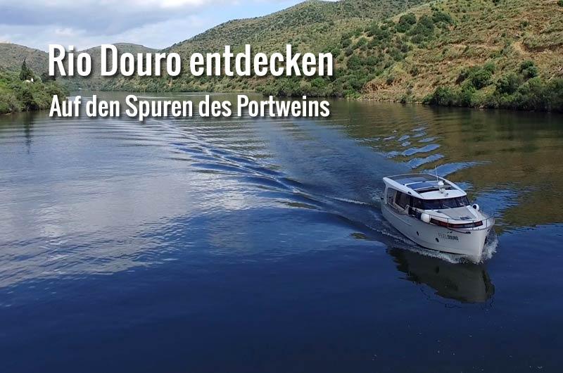 Yachtcharter Portugal Rio Douro mit FeelDouro