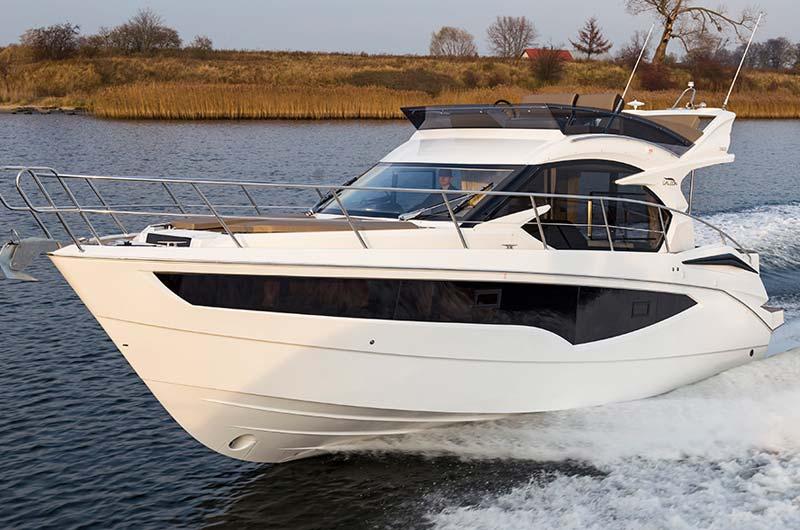 Boot Düsseldorf Motorboot Neuheiten 2017 - Galeon 360 Fly