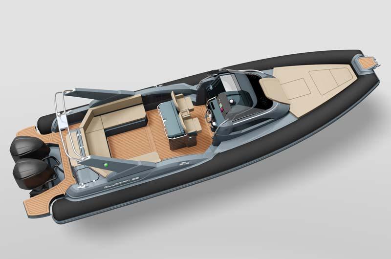 Boot Düsseldorf Motorboot Neuheiten 2017 - Joker Clubman 35