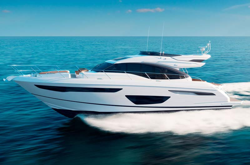 Boot Düsseldorf Motorboot Neuheiten 2017 - Princess S60