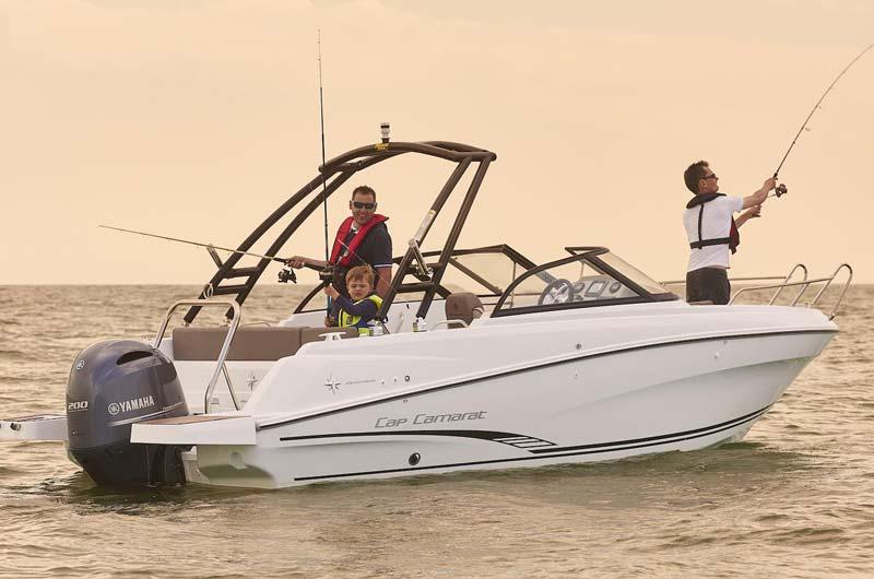 Boot Düsseldorf Motorboot Neuheiten 2017 - Jeanneau Cap Camarat 6.5 BR
