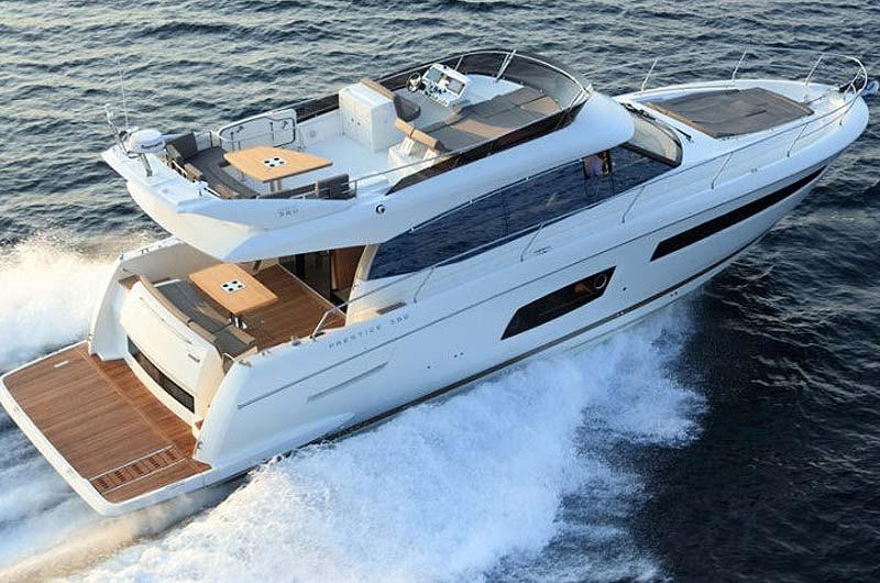 Boot Düsseldorf Motorboot Neuheiten 2017 - Prestige 560