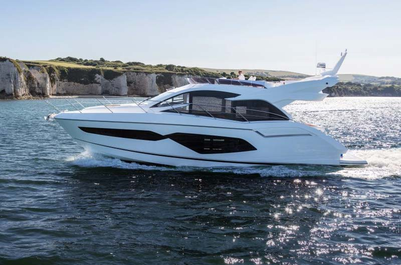 Boot Düsseldorf Motorboot Neuheiten 2017 - Sunseeker Manhattan 52