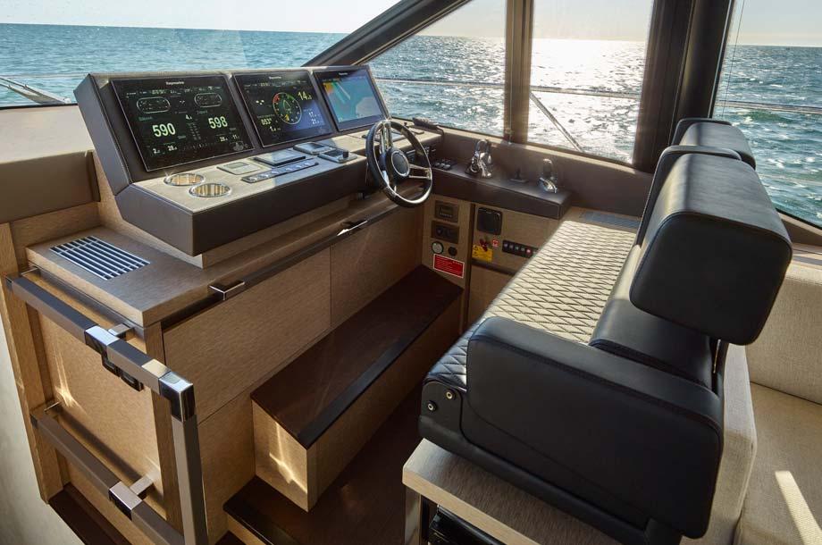 Prestige 630 Yacht Steuerstand