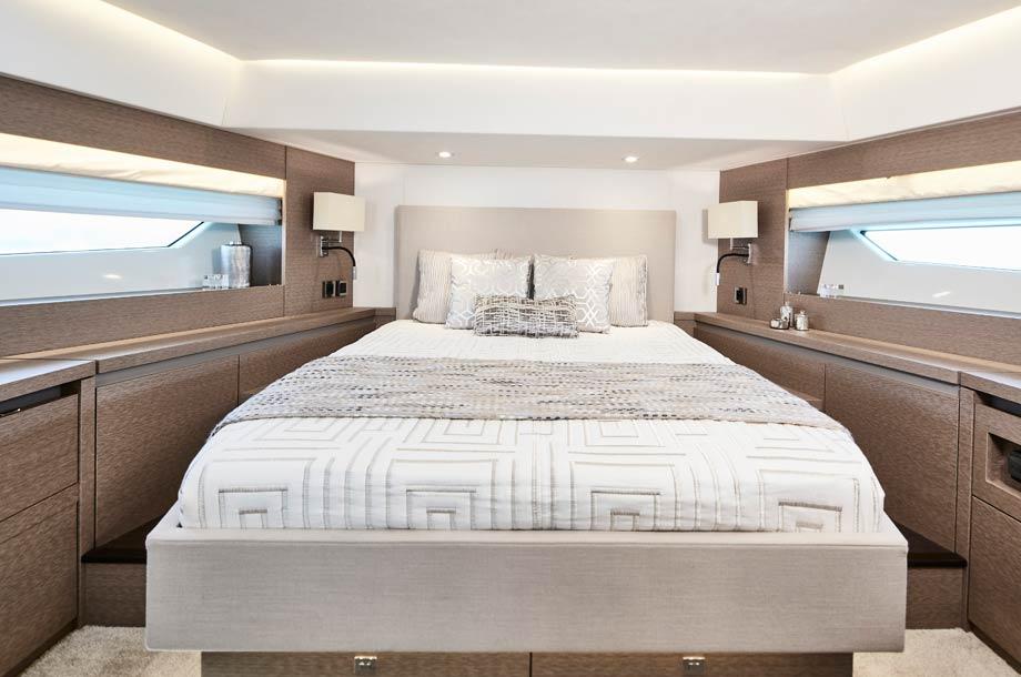 Prestige 630 Yacht Gästekabine