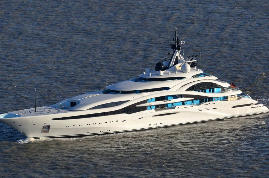 Superyacht Jupiter