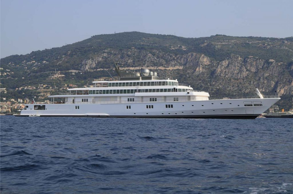 Superyacht Rising Sun