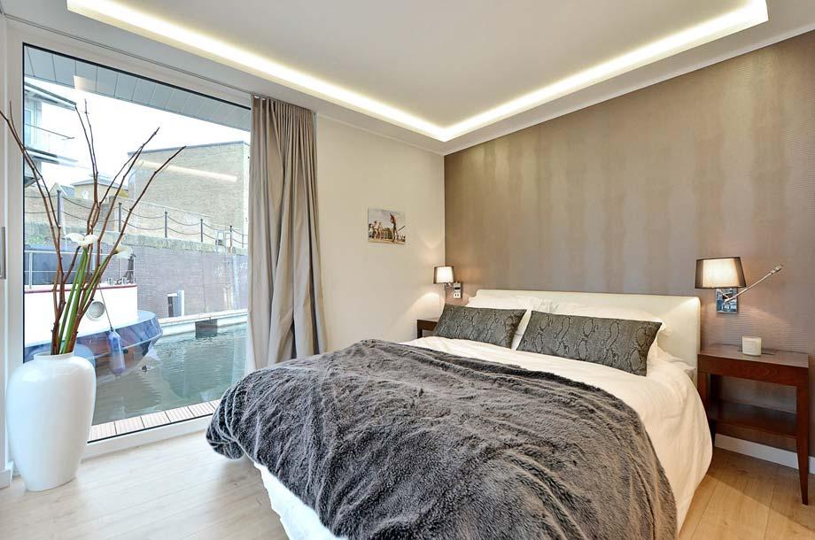 Hausboot Rev House - Schlafzimmer