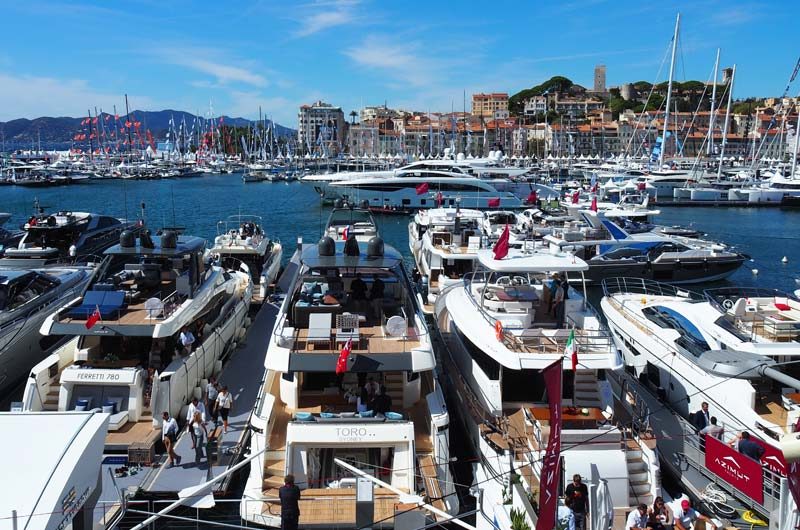 Cannes Yachting Festival 2017 Bild 03
