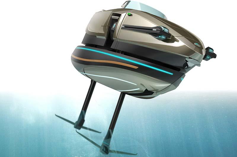 Koramaran Tragflächenboot