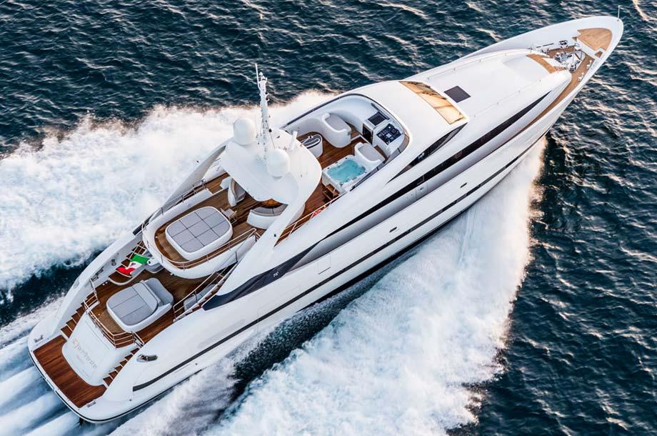 ISA Sport 120 Superyacht - Running