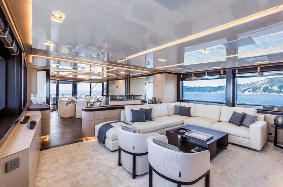 ISA Sport 120 Superyacht - Salon
