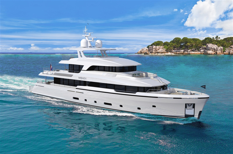 Moonen Shipyard - Martinique 36m