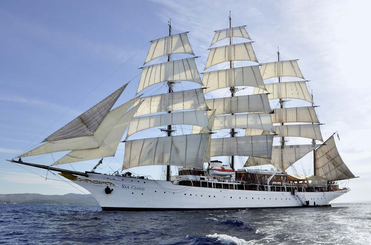Sea Cloud Großsegler