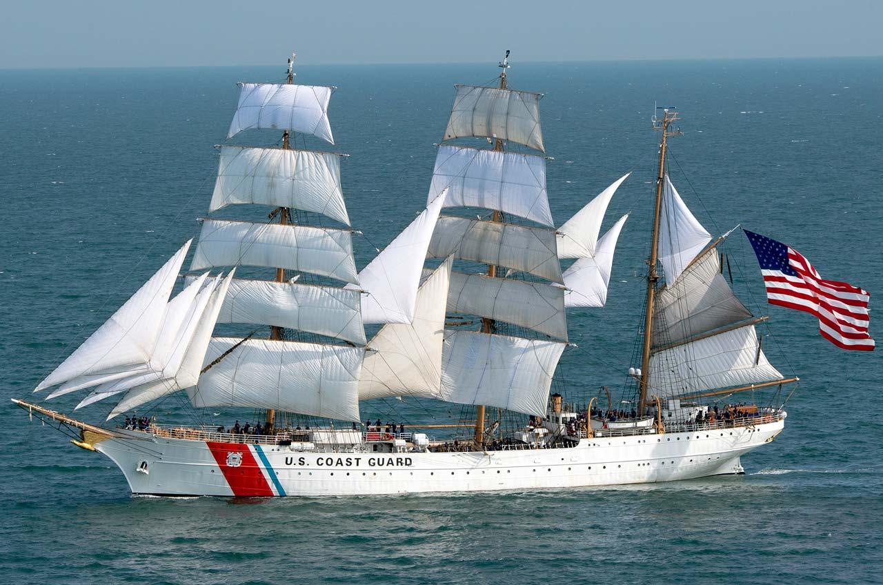 USCGC Eagle Großsegler