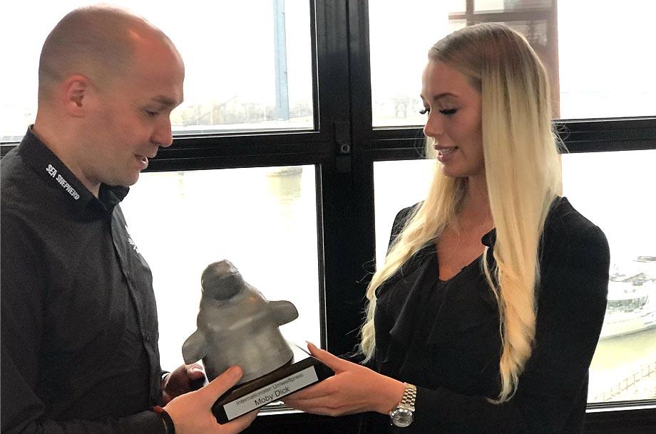 Moby Dick Umweltpreis 2019 - Verleihung an Sea Sheperd
