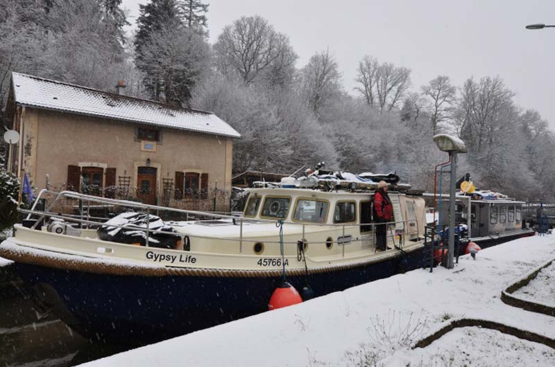 Paul Expedition - Frankreichs Winternavigation 10